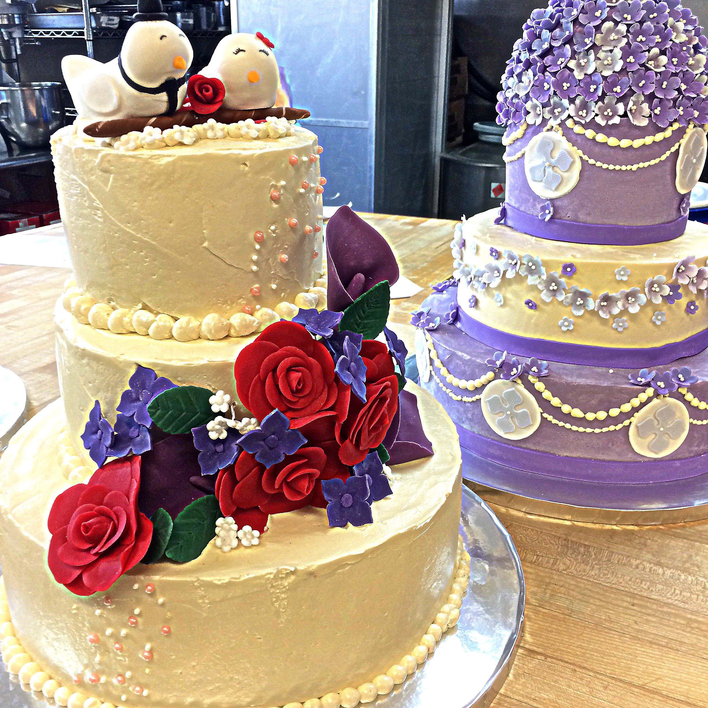 Decorated Cakes from Promise Culinary School