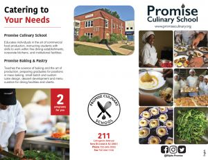 Promise Culinary Brochure English