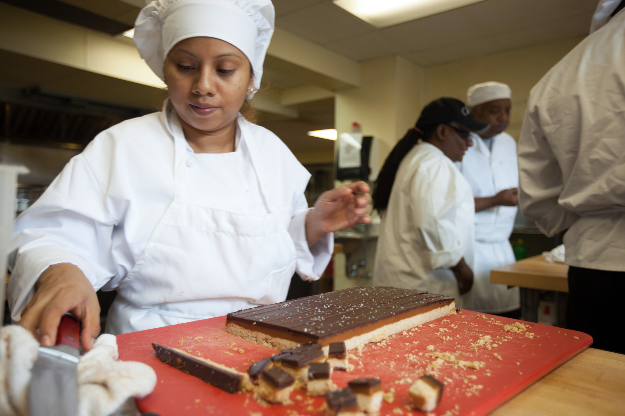 Promise Culinary Student in Kitchen